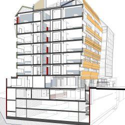 """Els elements de les estructures (""""esquelets"""") que sostenen els edificis es diuen bigues. Del disseny i càlcul d'estructures de habitatges se n'encarreguen fonamentalment els arquitectes i els enginyers (mecànics, de materials, industrials). Les dades més importants són el pes que s'ha de sostenir, les dimensions de cada element, la seva geometria, les articulacions, la posició relativa entre cada element i el material amb el qual estan fets."""