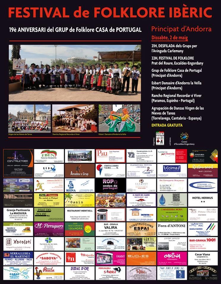 Nova constructora festival de folklore iberic